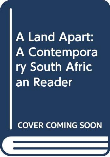 9780670816422: A Land Apart: A Contemporary South African Reader