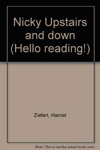 9780670817177: Nicky Upstairs and Down (Hello reading!)