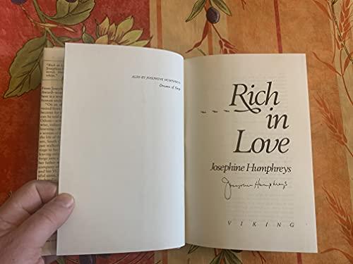 Rich in Love: Humphreys, Josephine