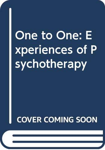9780670819850: One to One: Experiences of Psychotherapy