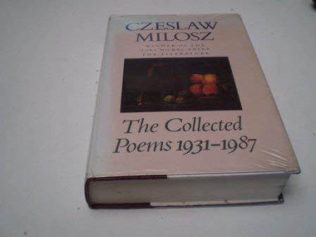 9780670820207: THE COLLECTED POEMS - 1931-1987