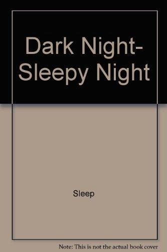 9780670820344: Dark Night, Sleepy Night (Hello reading!)