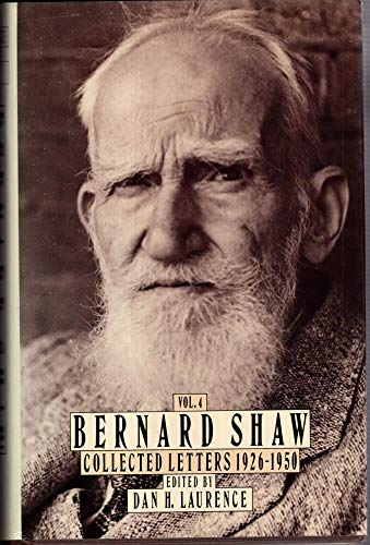 9780670821099: 004: Shaw: Letters: Volume 4 (BERNARD SHAW COLLECTED LETTERS)
