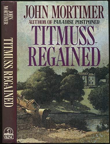 9780670823338: Titmuss Regained