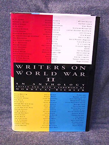 Writers on World War II (0670826308) by Richler, Mordecai