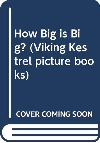 9780670826674: How Big is Big?