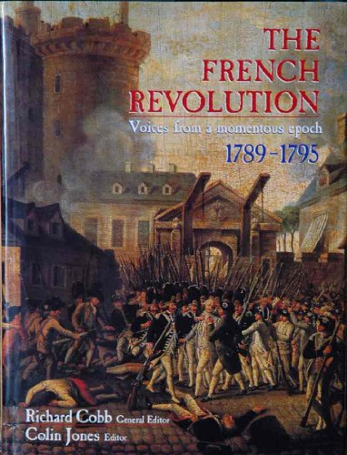 The French Revolution : Voices from a: Cobb, Richard