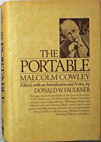 The Portable Malcolm Cowley: Malcolm Cowley, Donald