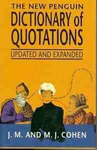 9780670829521: The New Penguin Dictionary of Quotations