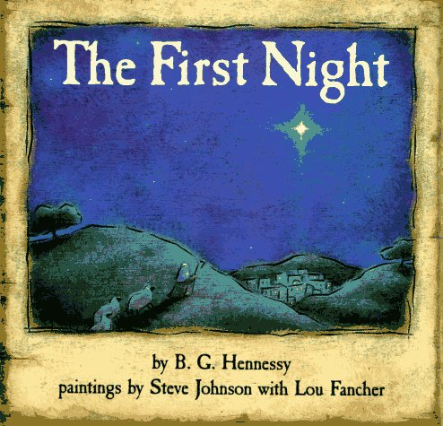 9780670830268: The First Night (Viking Kestrel Picture Books)