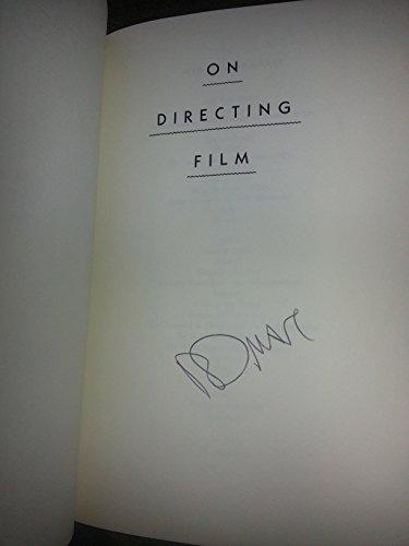 9780670830336: Mamet David : on Directing