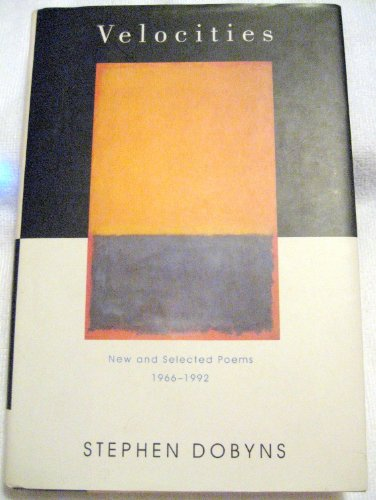 9780670830893: Velocities: New and Selected Poems 1966-1992