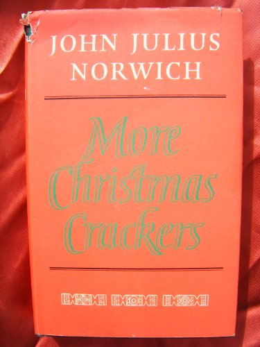 9780670831890: More Christmas Crackers: Being Ten Commonplace Selections 1980-89