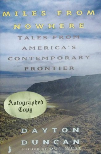 9780670831951: Miles from Nowhere: Tales from America's Contemporary Frontier