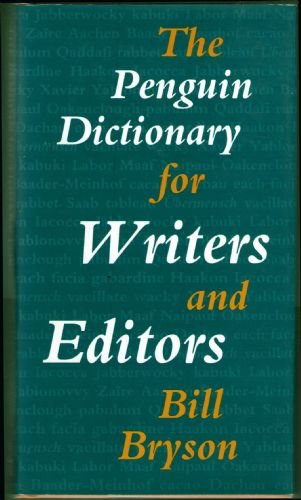 9780670837670: The Penguin Dictionary for Writers and Editors