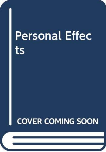 9780670838790: Personal Effects