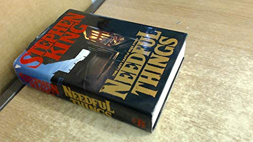 9780670839537: Needful Things: The Last Castle Rock Story