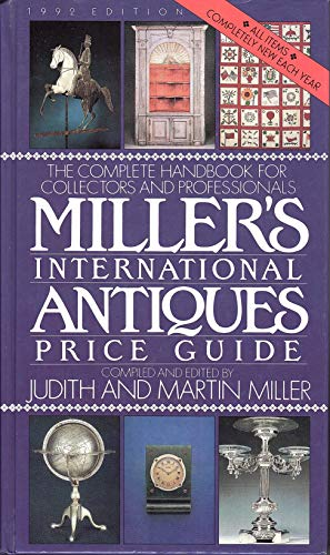 9780670840861: Millers' International Antiques Price Guide: The Complete Handbook for Collectors and Professionals, 1992 Edition