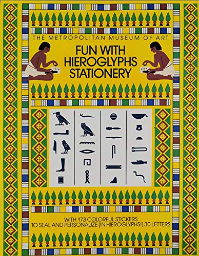 9780670842070: Fun With Hieroglyphs Stationery