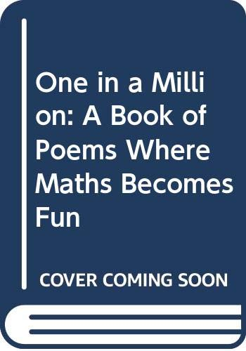 9780670842087: One in a Million: A Book of Poems Where Maths Becomes Fun