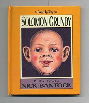 Solomon Grundy: A Pop-Up Rhyme (0670843199) by Nick Bantock