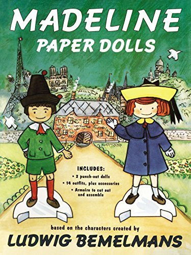9780670856015: Madeline Paper Dolls (Viking Kestrel picture books)