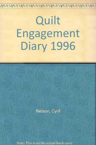 9780670859023: Quilt Engagement Diary 1996