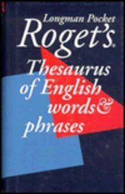 Longman Pocket Roget's Thesaurus of English Words: Roget, Peter Mark