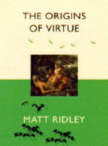 9780670863570: The Origin of Virtue