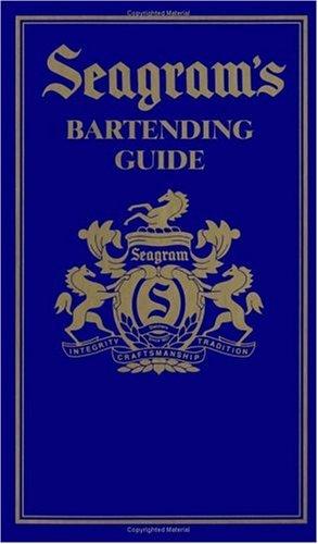 9780670863976: Seagram's Bartending Guide