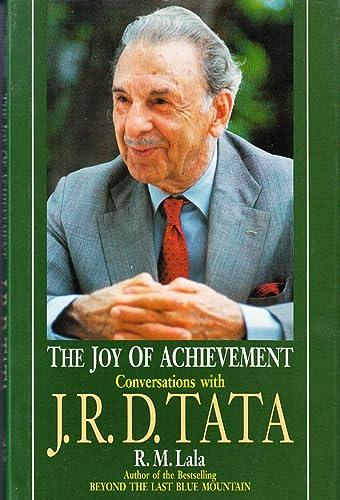 9780670864492: The joy of achievement: Conversations with J.R.D. Tata