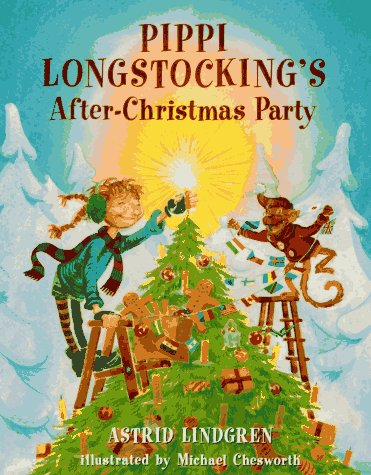 Pippi's After-Christmas Party (Pippi Longstocking): Lindgren, Astrid