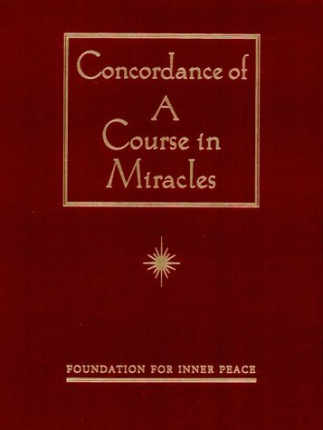 9780670869954: Concordance of a Course in Miracles: A Complete Index