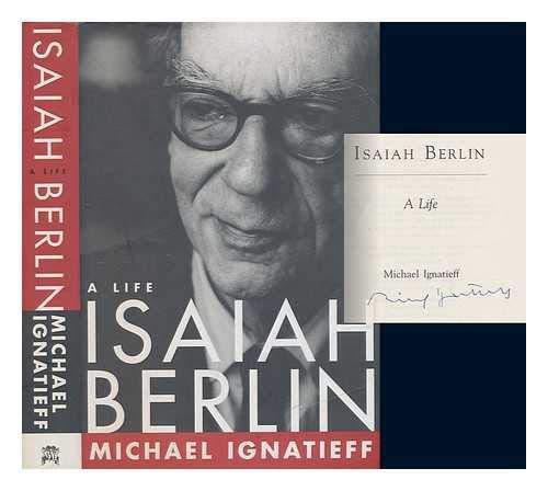 9780670877461: Isaiah Berlin, A Life