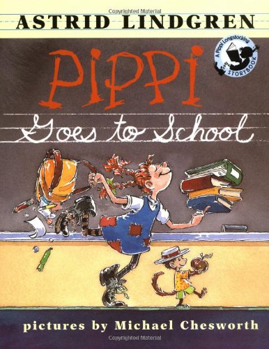 9780670880751: Pippi Goes to School (Pippi Longstocking Storybook)