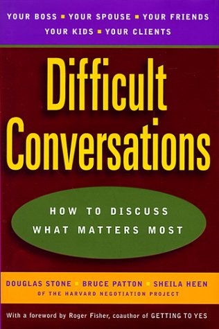 9780670883394: Difficult Conversations: How to Discuss What Matters Most