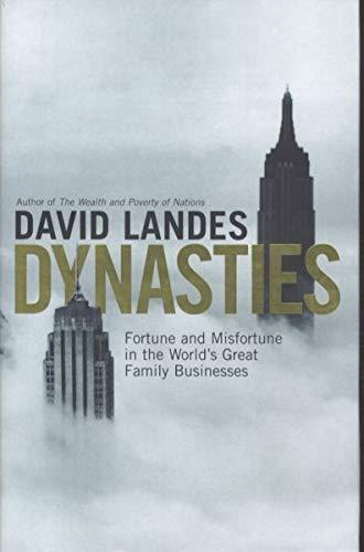 9780670885312: Dynasties