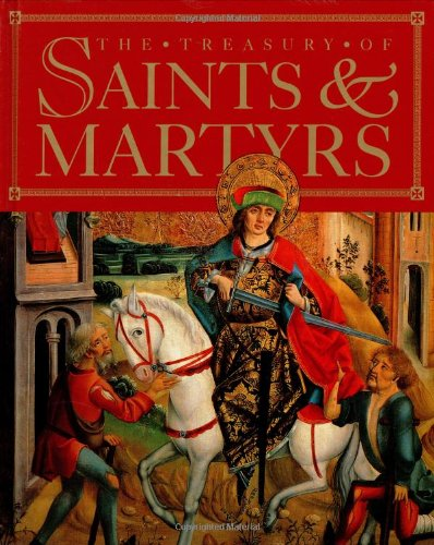 9780670887897: Treasury of Saints and Martyrs