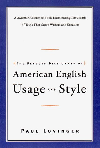 9780670891665: The Penguin Dictionary of American English Usage and Style