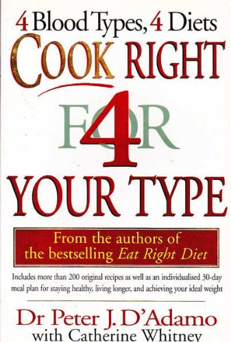 9780670892099: Cook Right 4 (for) Your Type