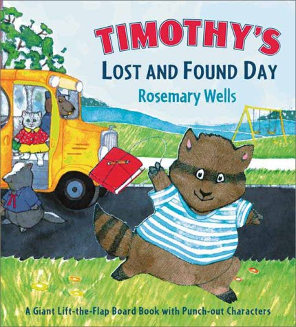 Timothy's Lost and Found Day: Wells, Rosemary