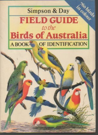 Field Guide to the Birds of Australia a book of identifications