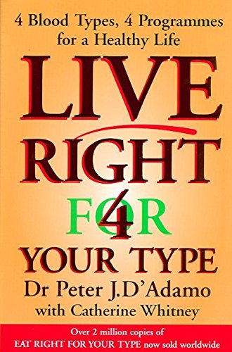 9780670911073: Live Right 4 for Your Type