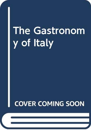 9780670911806: The Gastronomy of Italy