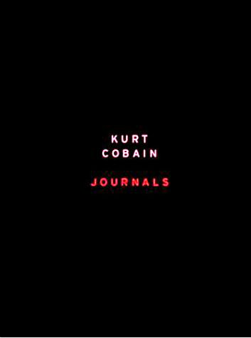 9780670913701: Kurt Cobain: The Journals