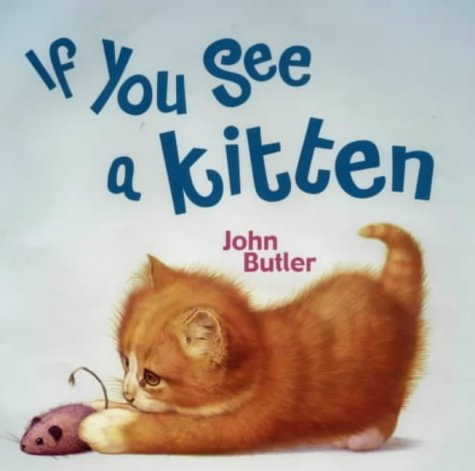 9780670914128: If You See a Kitten (Viking Kestrel picture books)