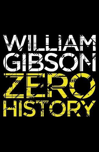 9780670919529: Zero History