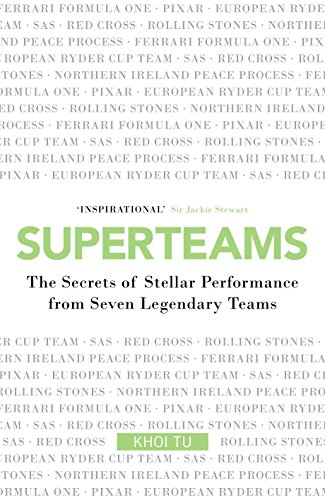 Superteams: The Secrets of Stellar Performance from Seven Legendary Teams