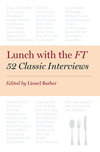 9780670922840: Lunch with the FT: 52 Classic Interviews