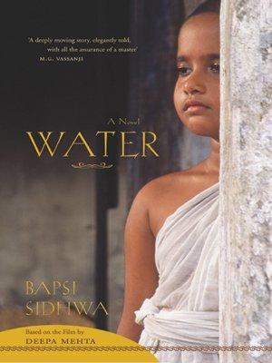 9780670999071: Water: A Novel